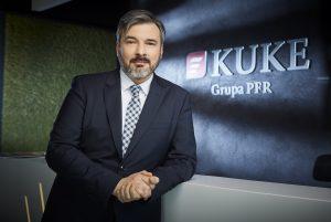 wiceprezes KUKE Tomasz Ślagórski